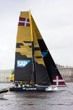 Extrem segla serie i St Petersburg Royaltyfri Bild