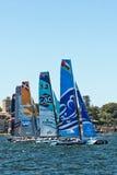 Extrem segla serie i Sydney Arkivfoton