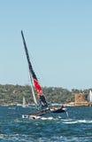 Extrem segla serie i Sydney Royaltyfri Fotografi