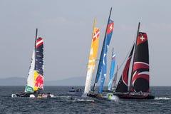 extrem seglingserie Fotografering för Bildbyråer