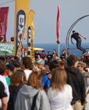 Extrem Sports Festival Barcelona Stockfoto