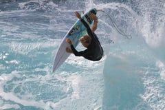 Extrem surfare Royaltyfri Foto
