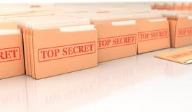 Extremamente secreto Imagens de Stock
