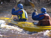Extreme alloy 3. Kayak Stock Images
