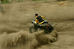 extreme atv quad Stock Images