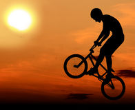 Extreme Bicycle Stock Image
