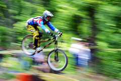 Extreme bike. Gabrovo , Bulgaria MAY 17, 2015.  Mountain Bike sports event dedicated to the Day of the Gabrovo city Stock Photo