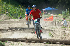 Extreme BikeCross competition Royalty Free Stock Image