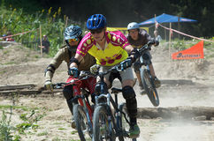 Extreme BikeCross competition Royalty Free Stock Photo