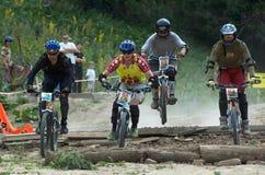 Extreme BikeCross competition Stock Photos