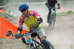 Extreme BikeCross competition Royalty Free Stock Photography