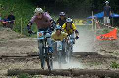 Extreme BikeCross competition Royalty Free Stock Photos