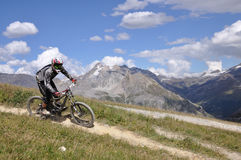 Extreme biker Royalty Free Stock Photography