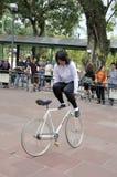 Extreme BMX Ride Royalty Free Stock Photos