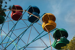 Extreme carousel in the park royalty free stock photo