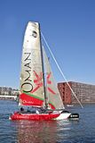 Extreme catamaran final world cup race on 19th sep Royalty Free Stock Photos
