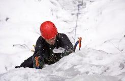 Extreme climber Stock Photo