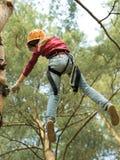 Extreme climbing Royalty Free Stock Image