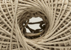 Ball of string in close up Stock Images