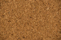 Extreme Close-up of a Corkboard Background Royalty Free Stock Image