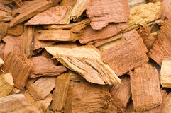 Extreme Close Up Of Mesquite Chips Royalty Free Stock Photos