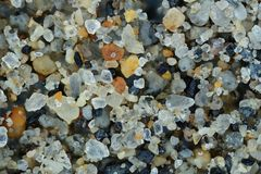 Free Extreme Close-up Of The Sand Grains Stock Photography - 113583252