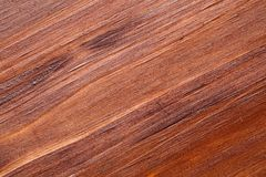 Extreme close up of a pine wooden surface, finished with dark wood stain, patina and matte varnish.  stock images