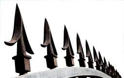 Extreme Close-up van de Decoratieve Aren van de Veiligheidspoort Royalty-vrije Stock Afbeelding