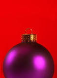 Extreme close-up of a xmas ornament Stock Photos