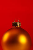 Extreme close-up of xmas ornament Royalty Free Stock Photo