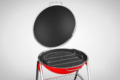 Extreme Closeup Barbecue Grill Stock Photography