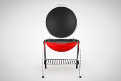 Extreme Closeup Barbecue Grill Royalty Free Stock Photography