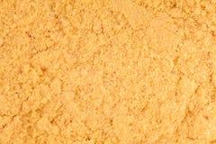 Extreme Closeup of Mustard Powder texture Stock Image