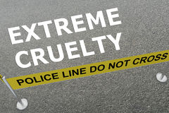 Extreme Cruelty - criminal concept Royalty Free Stock Photography