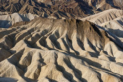 Extreme desert erosion Royalty Free Stock Photos