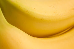Extreme detail of bananas Stock Photography