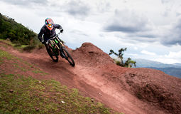 Extreme downhill Royalty Free Stock Photography