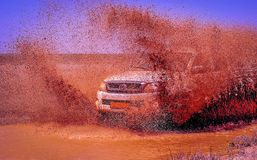 Extreme driving Royalty Free Stock Photography