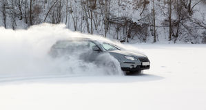 Extreme driving Stock Photography