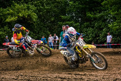 Extreme enduro MOTO SPORT Royalty Free Stock Photos