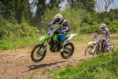 Extreme enduro MOTO SPORT Stock Photography