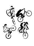 Extreme fietssport Stock Fotografie