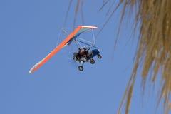 Extreme flight on delta plane Royalty Free Stock Image