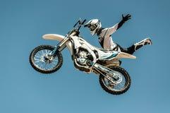 Extreme freestyle Stock Images