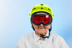 Extreme grannie Royalty Free Stock Photography