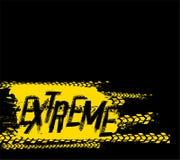 Extreme Grunge-Achtergrond Stock Fotografie