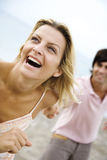 Extreme happiness Stock Photo