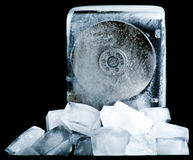 Extreme hard drive cooling Stock Images
