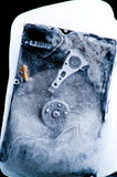 Extreme hard drive cooling Stock Photo
