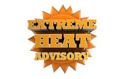 EXTREME HEAT ADVISORY -  Weather Warning